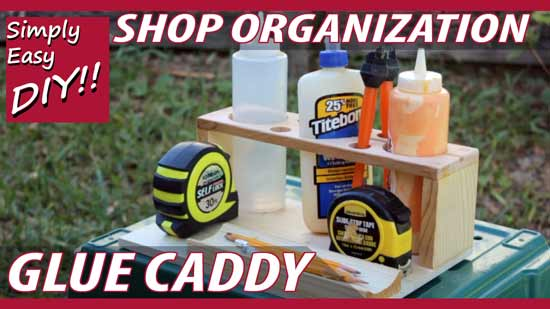 How to build a glue caddy for woodworkers