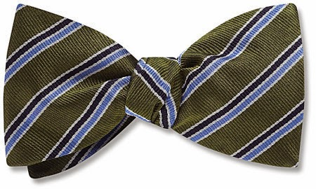 Cadogan bow tie from Beau Ties Ltd.