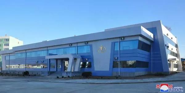 Taekwon-Do training hall in North Hwanghae Province