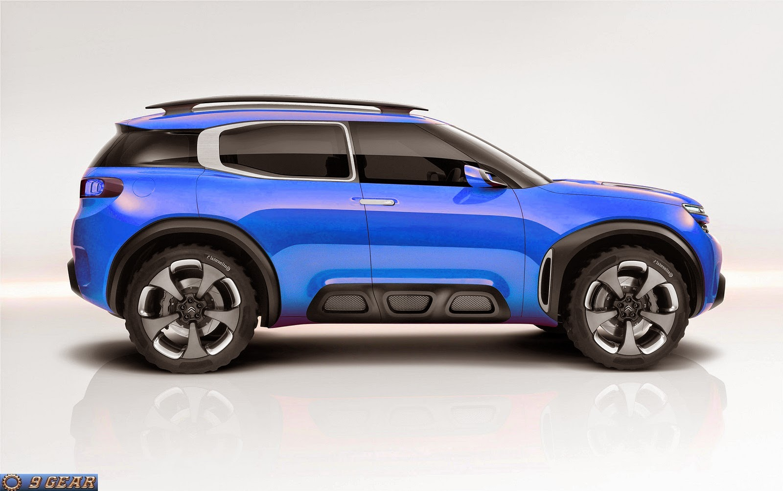 citroen aircross concept revealed car reviews new car pictures for 2018 2019. Black Bedroom Furniture Sets. Home Design Ideas