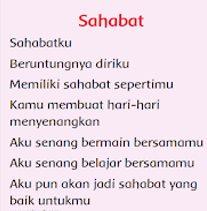 Puisi tentang sahabat
