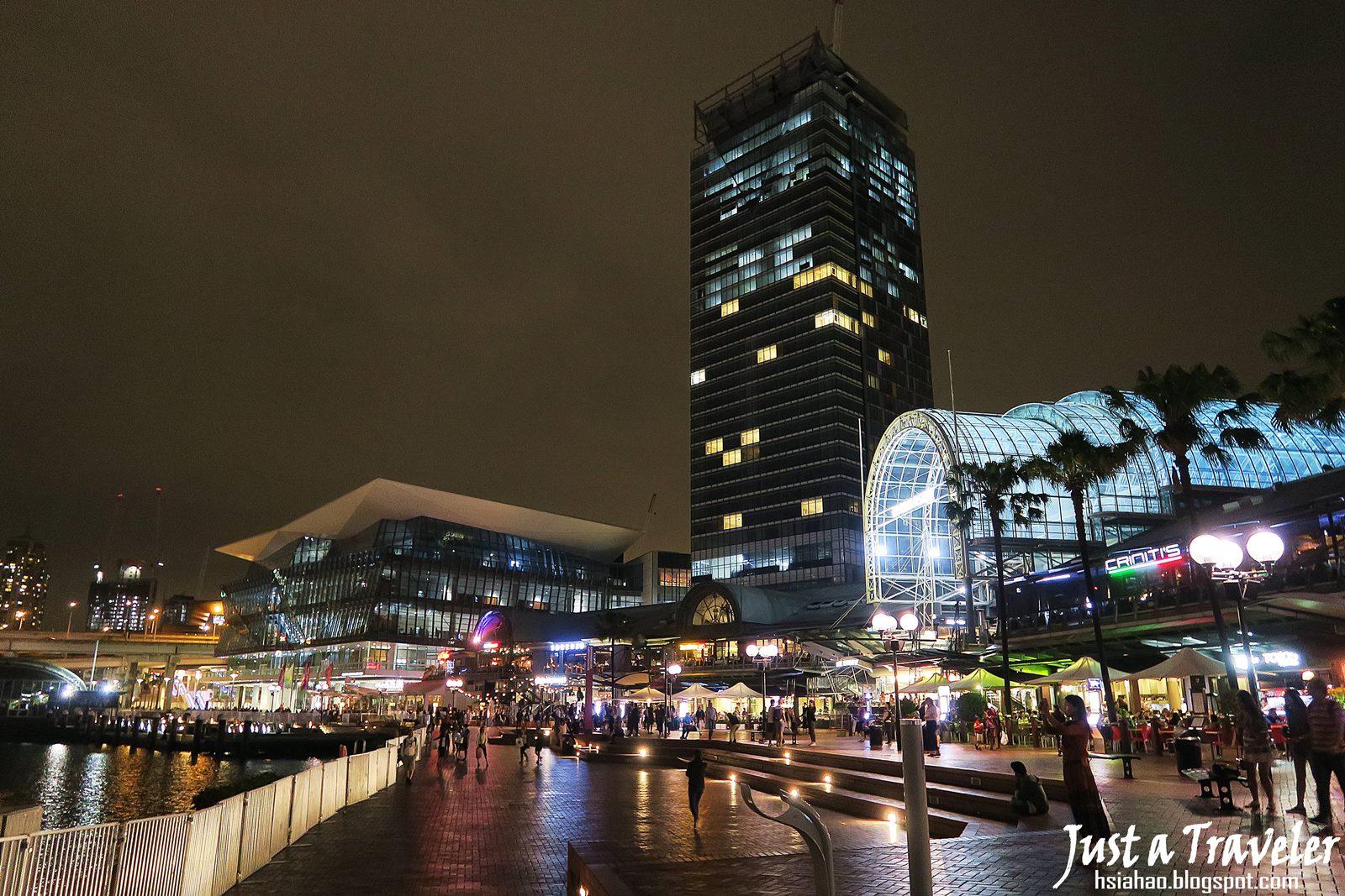 雪梨-景點-推薦-達令港-自由行-行程-旅遊-澳洲-購物中心-Harbourside Shopping Centre-Darling-Harbour-Tourist-Attraction-Travel