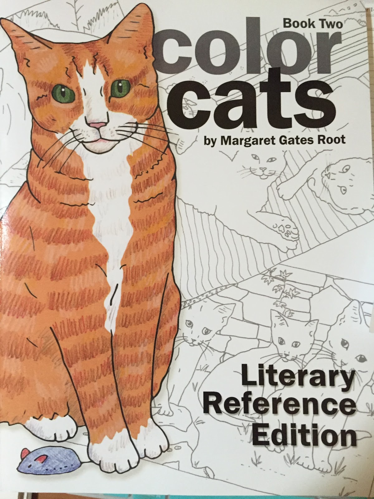 Color cats like - Book Two Color Cats By Margaret Gates Root A Literary Reference And Cats When I Saw This Picture Of The Cats And The Typewriter Below I Knew I Had To