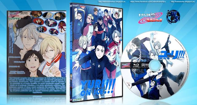Yuri!!! On ICE   Cover DVD  