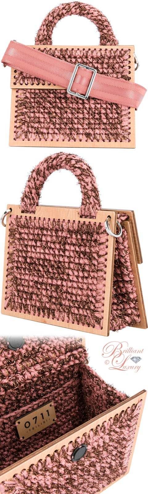 Brilliant Luxury ♦ 711 Michel Copacabana macramé crossbody bag