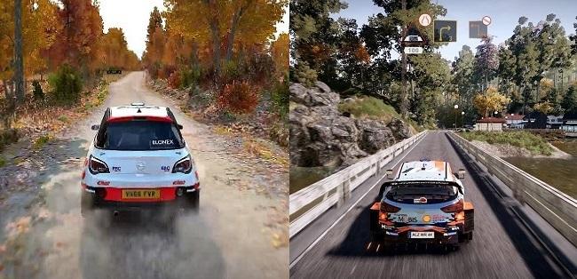 DiRT 5 vs WRC 9: Camera