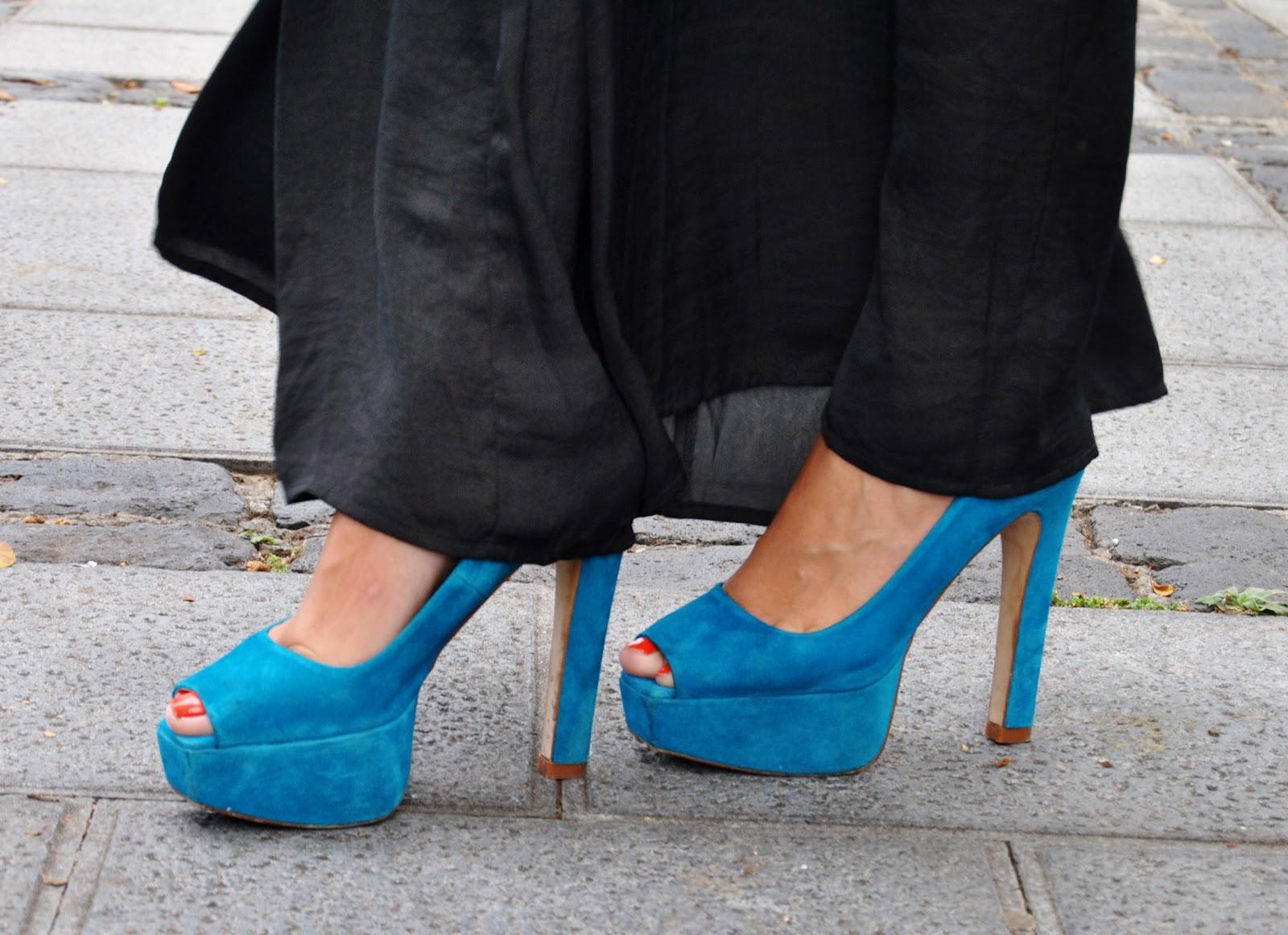 maxi pants, pantalón para de elefante, nery hdez, turquoise shoes