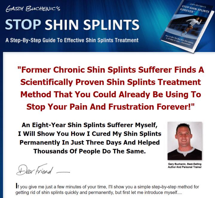 Stop Shin Splints