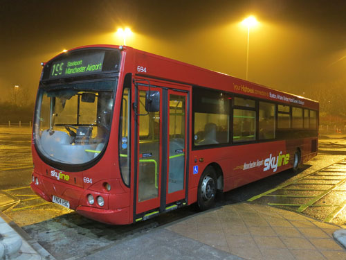 199 Bus From Manchester Airport to Buxton