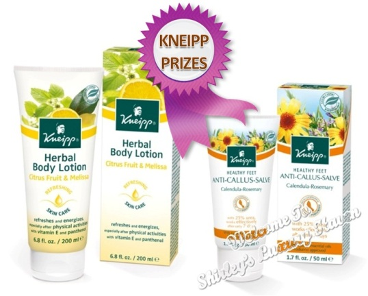 kneipp body lotion and happy feet