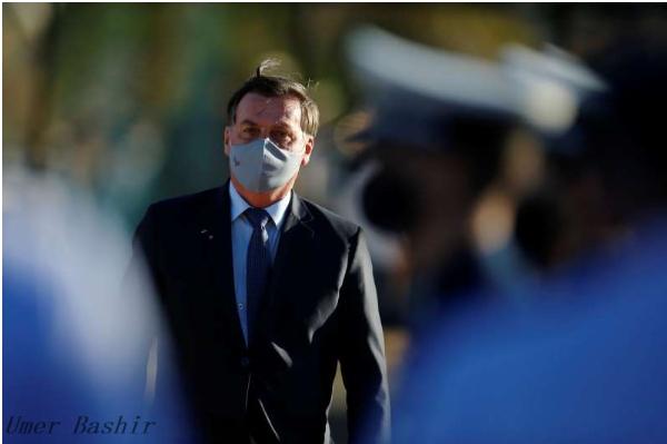 Brazilian Bolsonaro re-tested for novel coronavirus
