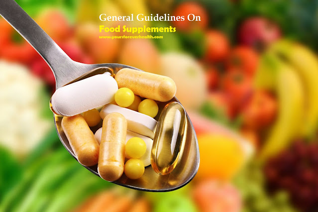 general guidelines on food supplements