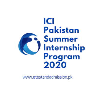 ICI Pakistan Summer Internship Program 2020