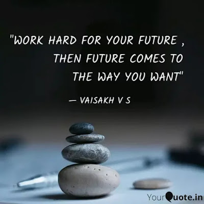 Work Hard For Your Future Quotes