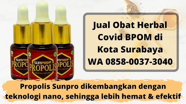 Jual Obat Herbal Covid BPOM di Kota Surabaya WA 0858-0037-3040