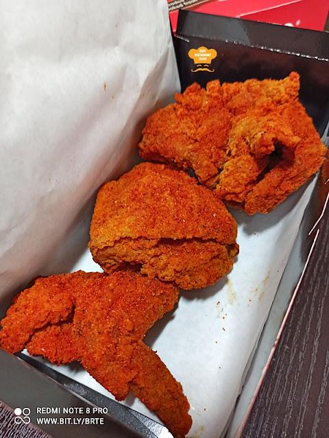 Marrybrown MB Mala Fried Chicken 3 Pcs
