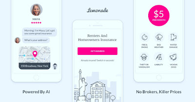 application d'assurances Lemonade