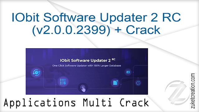 IObit Software Updater 2 RC (v2.0.0.2399) + Crack      |   12 MB