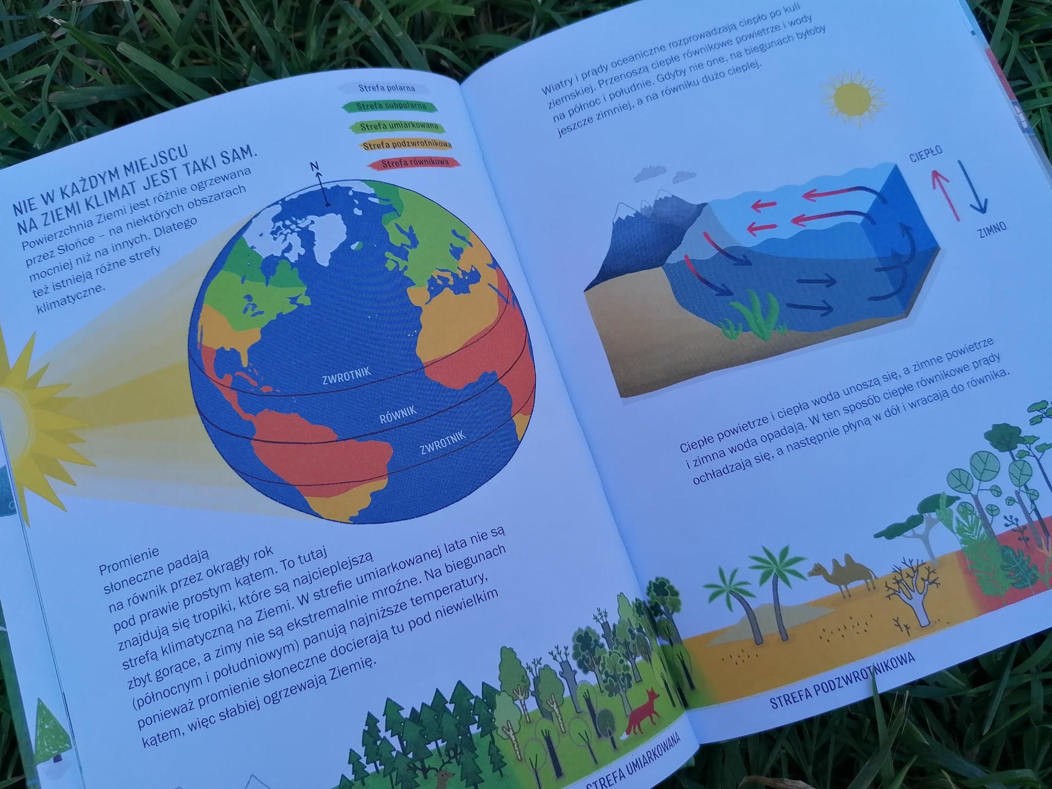 atmosfera na ziemi, cyrkulacja, woda, taki mamy klimat