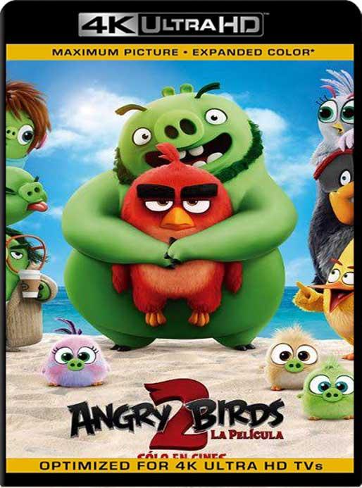 Angry Birds 2: La Película (2019) 4K 2160p UHD [HDR] Latino [GoogleDrive]