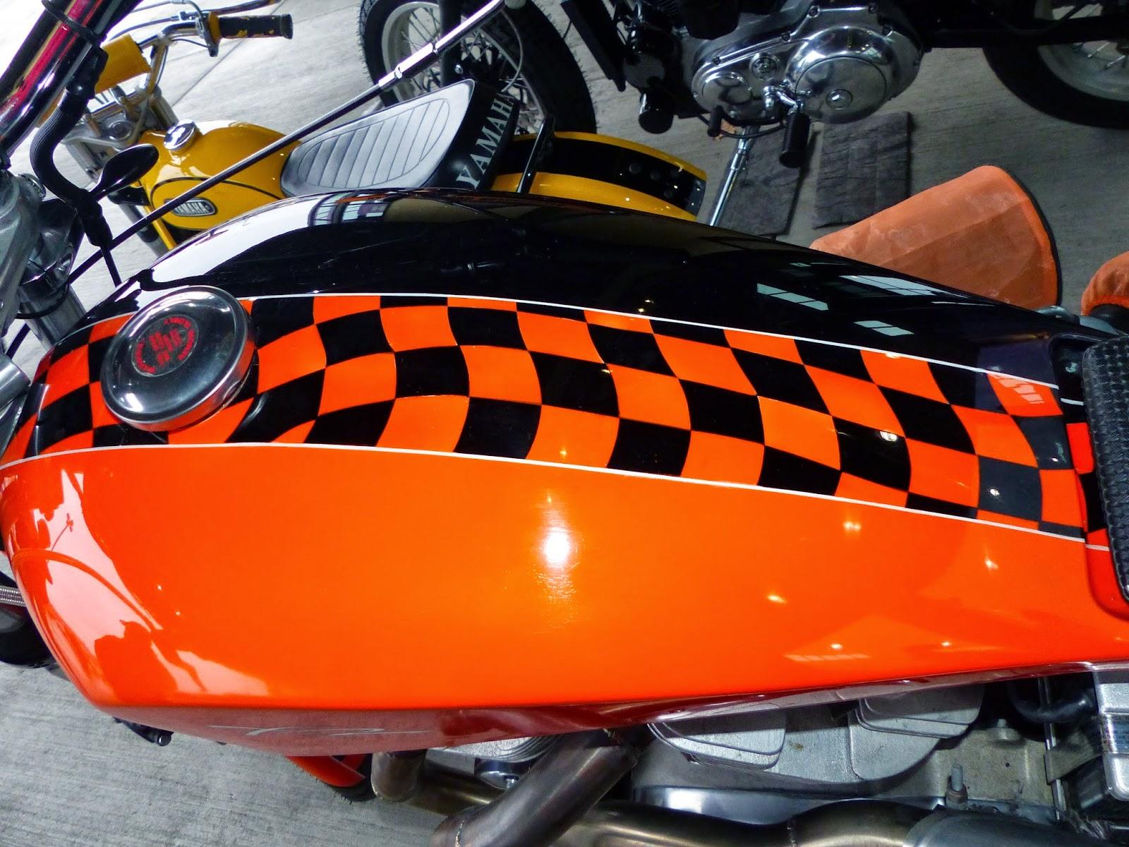 1970 Harley Davidson Evel Knievel Tribute: OldMotoDude: Harley Davidson XR Street Tracker Spotted In