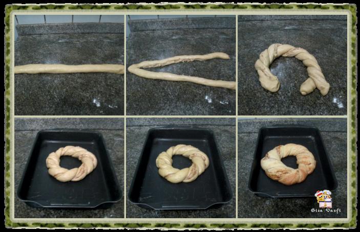 Pão doce de nozes 10