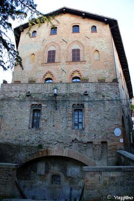 Facciata del Palazzo del Duca di Castell'Arquato
