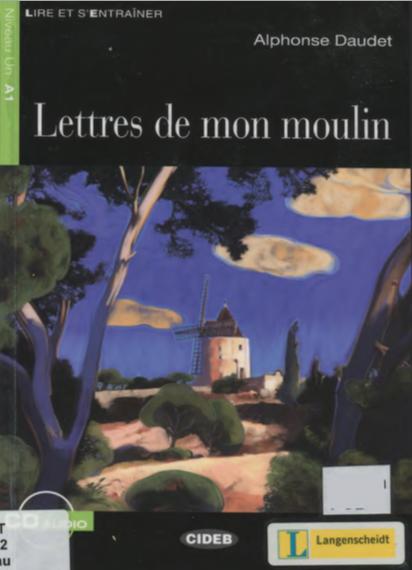 قصص للأطفال - تحميل كتاب قصة Lettres de mon moulin بالفرنسية ومصورة PDF