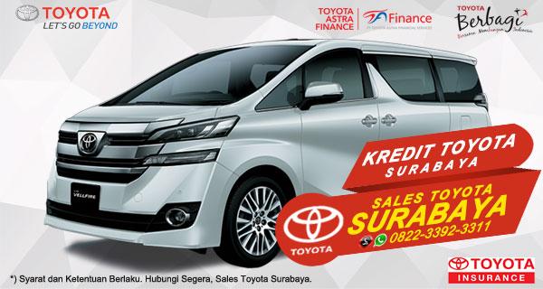 Promo DP Ringan, Paket Kredit Toyota Vellfire Surabaya