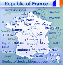 New Map of France