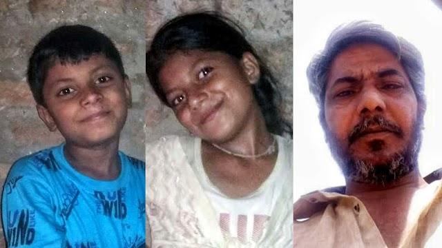 पत्नी के घर छोड़कर जाने से हैरान राजमिस्त्री ने दो बेटों और बेटी को पानी पिलाकर खुद की आत्महत्या..!