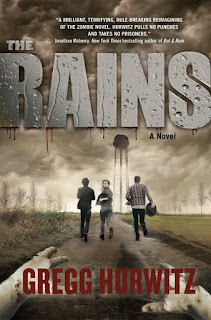 The Rains by Gregg Hurwitz book cover