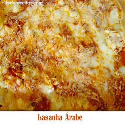 Lasanha Árabe