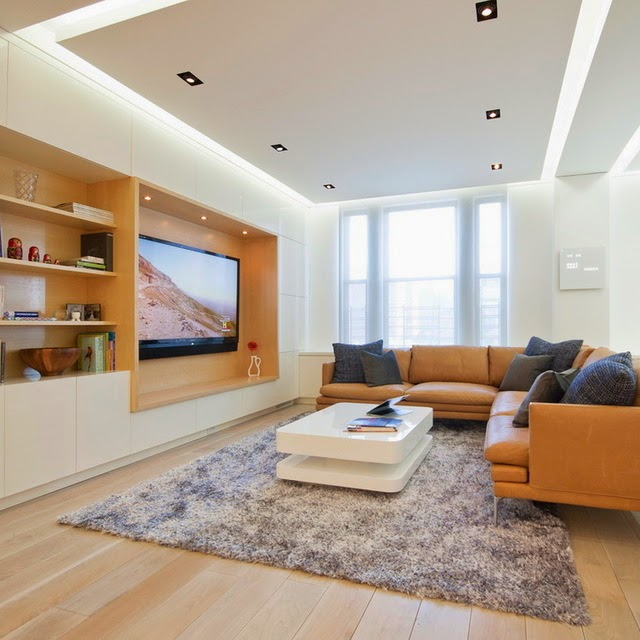 Modern Minimalist Living Room Lighting
