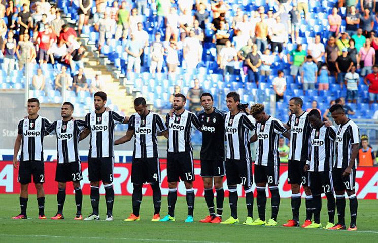Serie A 2016/17 / 2. kolo / Lazio - Juventus 0:1 (0:0)