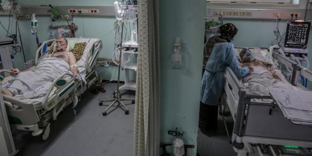 Saat Dunia Menunggu Vaksin, Pasien Covid-19 di Gaza Hanya Butuh Ranjang Rumah Sakit