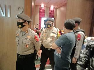Pengamanan Debat Paslon, Polres Pangkep terjunkan 43 Personil