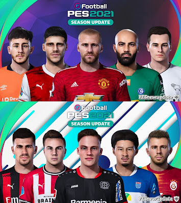 PES 2021 Extracted Facepack DLC 4.0