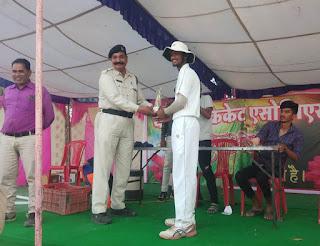 धरमपुरी क्रिकेट एसोसिएशन द्वारा आयोजित टूर्नामेंट में सांई क्लब बड़ौदा सेमीफाइनल में
