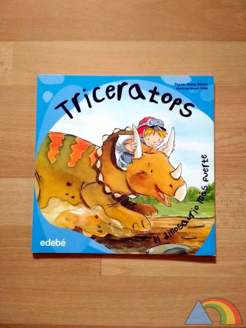 Portada del libro Triceratops, el dinosaurio más fuerte