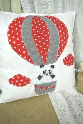 παιδικό μαξιλάρι αερόστατο