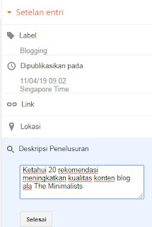 tahapan sebelum publish postingan blog yang layak diketahui