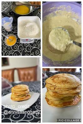 resep pancake mudah