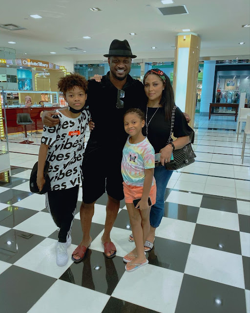 You are the most Wonderful woman i have ever had in my life- Peter Okoye celebrates his wife who just turned a year older