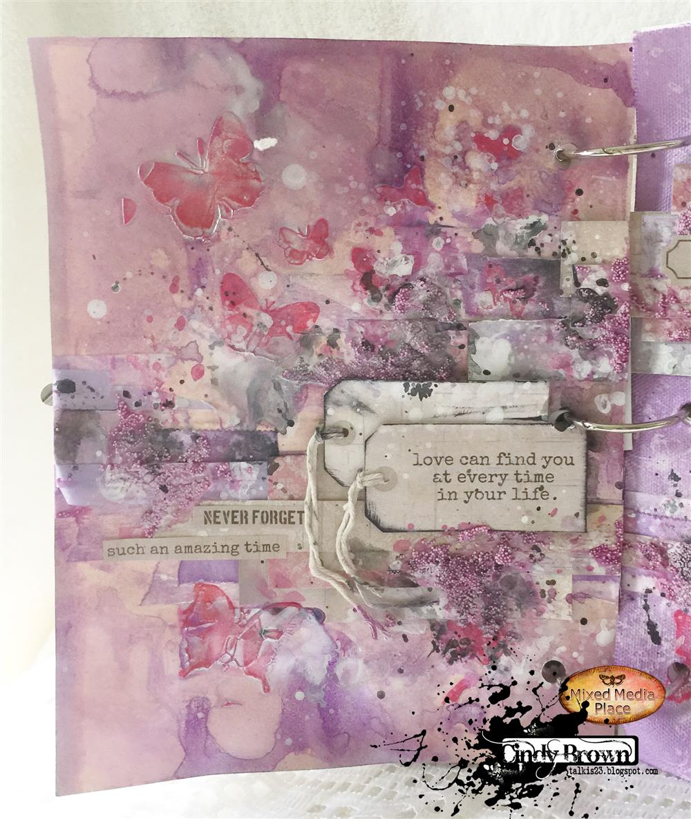 Love Finds You Quote: Mixed Media Place: Love Can Find You By Cindy