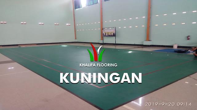 Karpet Lapangan Badminton Kuningan
