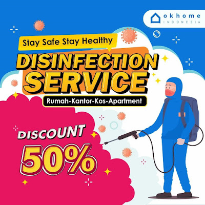 Jakarta Cleaning Disunfection service OKHOME