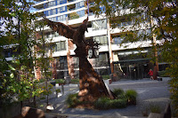 Robin Blau 'Time Thief' in New Acton Canberra