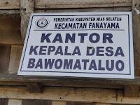Gibson dan Hastom di Laporkan atas Dugaan Pengrusakan Fasilitas Milik Desa Bawomataluo
