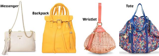 diferentes tipos de bolsos